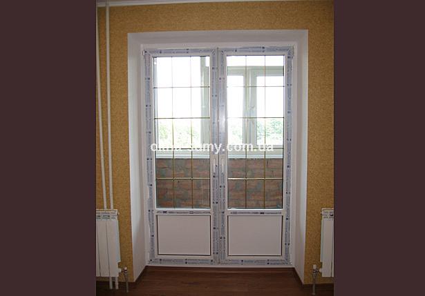 Распашные балконные двери цена.